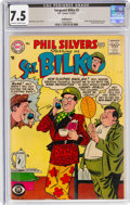 Silver Age (1956-1969):Humor, Sgt. Bilko #3 Bethlehem Pedigree (DC, 1957) CGC VF- 7.5 Off-white to white pages....