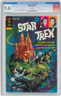 Bronze Age (1970-1979):Science Fiction, Star Trek #15 (Gold Key, 1972) CGC NM/MT 9.8 White pages....