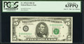 Small Size:Federal Reserve Notes, Fr. 1976-D $5 1981 Federal Reserve Note. PCGS Choice New 63PPQ.. ...