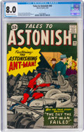 Silver Age (1956-1969):Superhero, Tales to Astonish #40 (Marvel, 1963) CGC VF 8.0 Off-white to white pages....