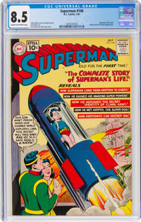 Superman #146 (DC, 1961) CGC VF+ 8.5 Cream to off-white pages