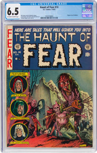 Haunt of Fear #14 (EC, 1952) CGC FN+ 6.5 Off-white to white pages