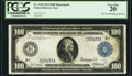 Large Size:Federal Reserve Notes, Fr. 1116 $100 1914 Federal Reserve Note PCGS Very Fine 20.. ...