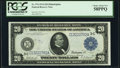 Large Size:Federal Reserve Notes, Fr. 974 $20 1914 Federal Reserve Note PCGS Choice About New 58PPQ.. ...