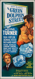 Movie Posters:Adventure, Green Dolphin Street & Other Lot (MGM, R-1950s). Folded, V...