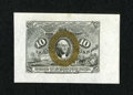 Fractional Currency:Second Issue, Fr. 1244SP 10c Second Issue Wide Margin Face Gem New....