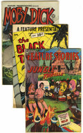 Golden Age (1938-1955):Horror, A Feature Presentation Group (Fox, 1950) Condition: Average VG+....(Total: 3 Comic Books)