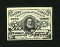 Fractional Currency:Third Issue, Fr. 1238 5c Third Issue with McClung Courtesy Autograph New....