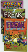 Bronze Age (1970-1979):Alternative/Underground, The Fabulous Furry Freak Brothers #2-4 Group (Rip Off Press, 1972-75) Condition: Average VF.... (Total: 3 Comic Books)