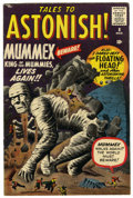 Silver Age (1956-1969):Mystery, Tales to Astonish #8 (Marvel, 1960) Condition: FN-....