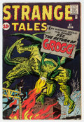 Silver Age (1956-1969):Science Fiction, Strange Tales #87 (Marvel, 1961) Condition: FN+....