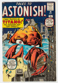 Silver Age (1956-1969):Mystery, Tales to Astonish #10 (Marvel, 1960) Condition: FN+.