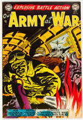 Golden Age (1938-1955):War, Our Army at War #15 (DC, 1953) Condition: FN+....