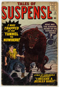 Silver Age (1956-1969):Horror, Tales of Suspense #5 (Marvel, 1959) Condition: GD+....