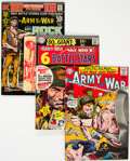 Silver Age (1956-1969):War, Our Army at War/Sgt. Rock Group of 14 (DC, 1965-94) Condition: Average VF.... (Total: 12 )
