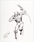 Original Comic Art:Illustrations, Herb Trimpe - Wolverine Illustration Original Art (undated)....