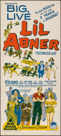 "Movie Posters:Musical, Li'l Abner (Paramount, 1959). Folded, Very Fine. Australian Daybill (13.5"" X 30""). Musical.. ..."