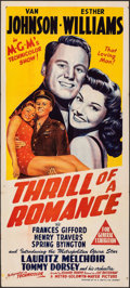 """Movie Posters:Musical, Thrill of a Romance (MGM, 1945). Folded, Very Fine-. Australian Daybill (13.5"""" X 30""""). Musical.. ..."""