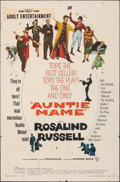 """Movie Posters:Comedy, Auntie Mame (Warner Bros., 1958). Folded, Fine+. One Sheet (27"""" X 41""""). Comedy.. ..."""