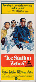 "Movie Posters:Thriller, Ice Station Zebra (MGM, 1969). Folded, Very Fine+. Australian Daybill (13"" X 30""). Thriller.. ..."