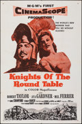 "Movie Posters:Adventure, Knights of the Round Table & Other Lot (MGM, 1953). Folded, Very Fine. Military One Sheet & One Sheet (27"" X 41""). Ad..."