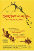 "Movie Posters:Academy Award Winners, Lawrence of Arabia (Columbia, R-1971). Folded, Very Fine. One Sheet (27"" X 41""). Academy Award Winners.. ..."