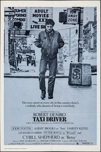 """Taxi Driver (Columbia, 1976). Folded, Fine/Very Fine. International One Sheet (27"""" X 41""""). Crime"""