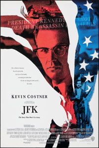 """JFK & Other Lot (Warner Bros., 1991). Rolled, Very Fine. One Sheets (2) (27"""" X 40.5"""" & 27"""" X 40&q..."""