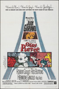 "Gay Purr-ee (Warner Bros., 1962). Folded, Very Fine. One Sheet (27"" X 41""). Animation"