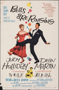 """Bells Are Ringing (MGM, 1960). Folded, Fine+. One Sheet (27"""" X 41""""). Musical"""