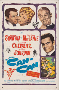 """Can-Can & Other Lot (20th Century Fox, 1960). Folded, Fine/Very Fine. One Sheets (2) (27"""" X 41""""). Musical..."""
