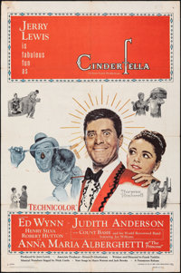 "Cinderfella (Paramount, 1960). Folded, Fine+. One Sheet (27"" X 41""). Norman Rockwell Artwork. Comedy"
