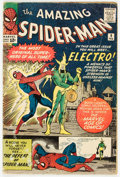 Silver Age (1956-1969):Superhero, The Amazing Spider-Man #9 (Marvel, 1964) Condition: GD....
