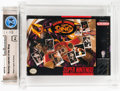 Video Games:Nintendo, Boxing Legends of the Ring Wata 9.4 A+ Sealed SNES Electro Brain USA....