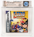 Video Games:Nintendo, F-Zero: GP Legend Wata 9.6 A++ Sealed GBA Nintendo 2003 USA. ...