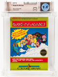 Video Games:Nintendo, Kung Fu Heroes [Rev-A, Round SOQ, Early Production] Wata 9.0 A Sealed NES Culture Brain 1989 USA....