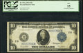 Large Size:Federal Reserve Notes, Fr. 911c $10 1914 Federal Reserve Note PCGS Fine 15.. ...