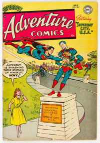 Adventure Comics #202 (DC, 1954) Condition: VG+