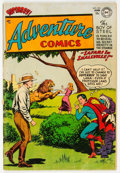 Golden Age (1938-1955):Science Fiction, Adventure Comics #201 (DC, 1954) Condition: VG/FN....