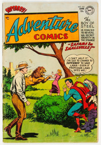 Adventure Comics #201 (DC, 1954) Condition: VG/FN