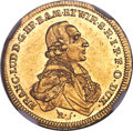 German States:Wurzburg, German States: Wurzburg. Franz Ludwig gold Ducat 1780 MS63 NGC,...