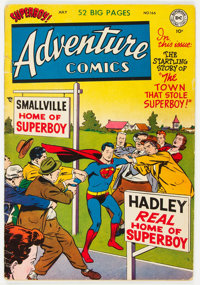 Adventure Comics #166 (DC, 1951) Condition: VG+