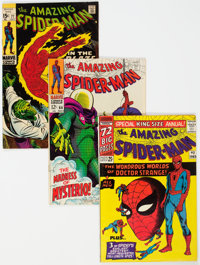 The Amazing Spider-Man Group of 4 (Marvel, 1965-69).... (Total: 4 Comic Books)