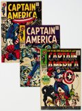 Captain America Group of 4 (Marvel, 1968-71).... (Total: 4)