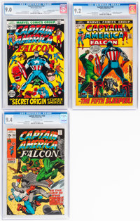 Captain America #140, 148, and 155 Group (Marvel, 1971-72).... (Total: 3)