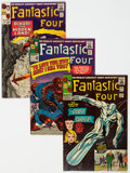 Silver Age (1956-1969):Superhero, Fantastic Four Group of 10 (Marvel, 1964-68) Condition: Average VG/FN.... (Total: 10 Comic Books)