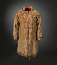 A Sioux Quilled Hide Jacket
