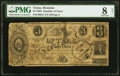 Houston, TX- Treasurer of the Republic of Texas $3 June ?, 1838 Cr. H27 Medlar 53 PMG Very Good 8 Net