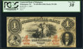Wilmington, NC- Commercial Bank of Wilmington $4 Feb. 1, 1862 G8b Pennell 570 PCGS Very Fine 30
