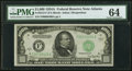 Fr. 2212-F $1,000 1934A Federal Reserve Note. PMG Choice Uncirculated 64